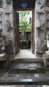 The entrance to my homestay