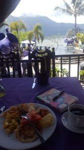3rd Breakfast. Check out the view!